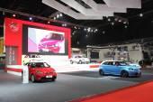 Bangkok - 25 marzo: Showroom di Mg auto presso The 36 th Bangkok Int — Foto Stock