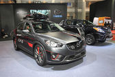 BANGKOK - June 24 : Mazda CX-5 car on display at Bangkok Interna — Foto Stock