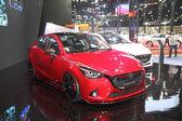 BANGKOK - June 24 : Mazda2 car on display at Bangkok Internation — Stock Photo