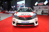 BANGKOK - June 24 : Toyota Altis with modify set with TRD car on — Photo