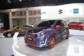 BANGKOK - June 24 : Suzuki Celerio car on display at Bangkok Int — Stock Photo