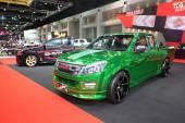 BANGKOK - June 24 :Isuzu X-series car on display at Bangkok Inte — Stock Photo