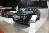 BANGKOK - June 24 : Range Rover car on display at Bangkok Intern — Stock Photo