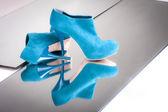 Fashion woman's shoes — Stock Photo