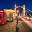 Постер, плакат: Albert bridge