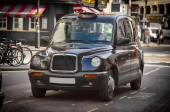 Black cab — Stock Photo