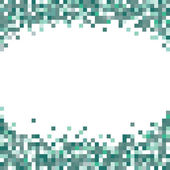 Abstract pixel art background — Stock Vector