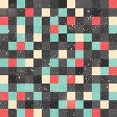 ピクセル アート スタイルの背景 — ストックベクタ
