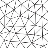 Polygon style geometric background — Stock Vector