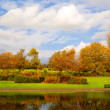 Pond in Alexandra Park in Glasgow, Scotland — Stock Photo #62419841