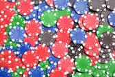 Chaos abstract color photo closeup — Stock Photo