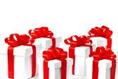 Set de regalo caja aislada — Foto de Stock