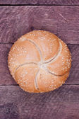 Kaiser roll bread — Stock Photo