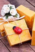 Bittim soap, turkish natural soap — Stock Photo