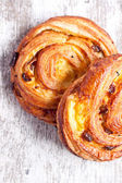Sweet buns close up — Stock Photo