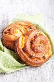 Sweet buns close up — Stock Photo