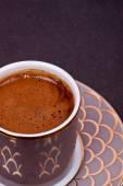 Turkish coffee close up — Stock Photo
