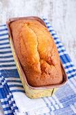 Sponge cake close up — Stock Photo