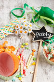 Party time items — Stock Photo