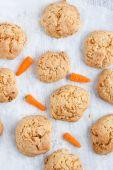 Carrot cookies — Stock Photo