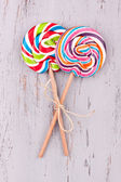 Two tasty Lollipops — Stock Photo
