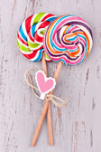 Lollipops close up view — Stock Photo