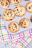 Chocolade chip muffins — Stockfoto