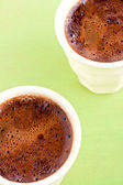 Turkish coffee close up — Zdjęcie stockowe