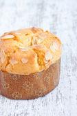 Almond muffin cake — Stock Photo