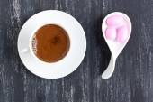 Turkish coffee and candies — Foto de Stock
