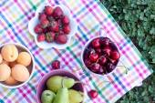 Assorted fruits close up — Stock Photo