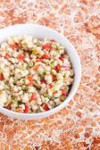 Wheat salad close up — Stock Photo