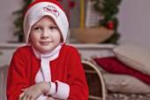Mały santa — Zdjęcie stockowe