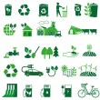 Ecology icons set — Stock Vector #52099623