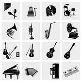 Intrumentos musical — Vector de stock