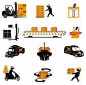 Shipping icons. — Stock Vector