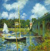Claude Monet - author's copy — Stock Photo