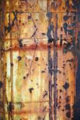 Random background texture on rusty eroded wall — Stock Photo