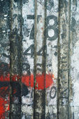 Random background collage texture paint on eroded wall — Stock Photo