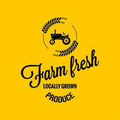 Farm fresh design background — Cтоковый вектор