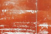 Old painted metal surface — Stock Photo