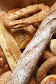 Bakery products in bakery shop — Stock Photo