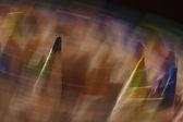 Edition rotating coloured pencils — Stock fotografie