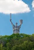 Statue of the Motherland — Stock Photo
