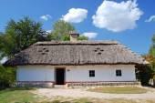 Choza tradicional ucraniana — Foto de Stock