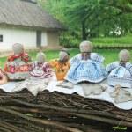Traditional Handmade rag dolls. — Stock Photo #58632143