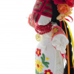 Folk handmade doll — Stock Photo #58632145