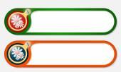 вектор кнопки с винтом и цветы — Cтоковый вектор