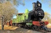 Historical steam train engine — Stock Photo