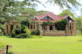 Historic sandstone rectory, Clarens, South Africa — Stock Photo